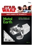 Metal Earth, Star Wars Darth Vader's TIE Advanced X1 Starfighter model do składania metalowy.