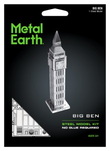 Metal Earth Big Ben Tower model do składania metalowy.