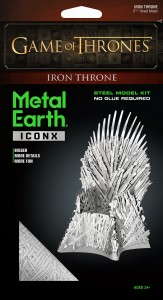 Metal Earth, Żelazny Tron Iron Throne GOT Gra o Tron.