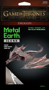 Metal Earth, Smok Dragon GOT Gra o Tron