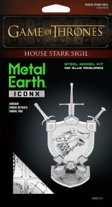 Metal Earth, Herb Starków GOT Gra o Tron.
