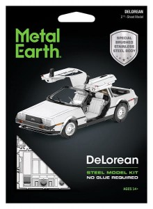 Metal Earth, DeLorean Metalowy model do składania