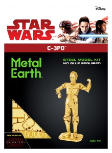 Metal Earth, Star Wars C-3PO C3PO model do składania metalowy.