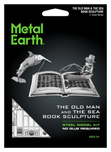 Metal Earth, Stary Człowiek i Morze The Old Man & The Sea Book