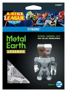 Metal Earth, Justice League Cyborg Model Do Składania.
