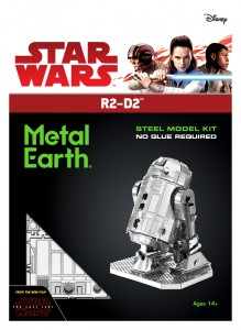 Metal Earth, Star Wars R2-D2 R2D2 model do składania metalowy.