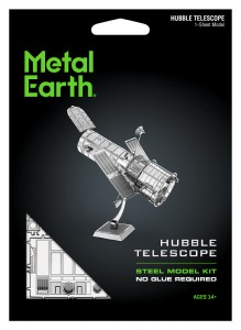 Metal Earth, Teleskop Hubble model do składania metalowy.