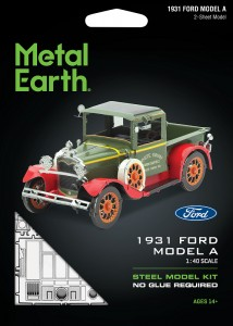 Metal Earth, Ford Model A 1931 r. Metalowy model do składania
