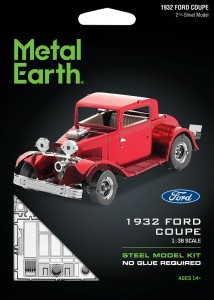 Metal Earth, Ford Coupe 1932 r. Metalowy model do składania