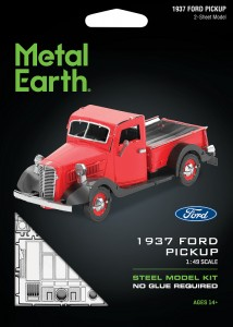 Metal Earth, Ford Pickup 1937 r. Metalowy model do składania
