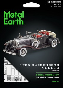 Metal Earth, Duesenberg Model J 1935 r. Metalowy model do składania