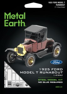 Metal Earth, Ford T 1925 r. Runabot Metalowy model do składania