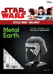 Metal Earth, Star Wars, Hełm Kylo Ren'a Kylo Ren Helmet