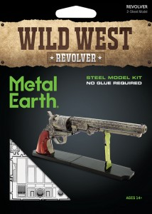 Metal Earth, Rewolwer Wild West