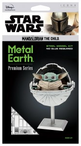 Metal Earth, Star Wars The Mandalorian The Child Baby Yoda