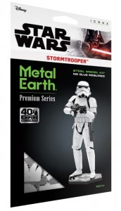 Metal Earth, Star Wars Stormtrooper Model do składania metalowy.