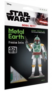 Metal Earth, Star Wars Boba Fett Model do składania metalowy.