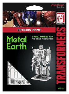 Metal Earth, Transformers Optimus Prime model do składania metalowy.