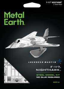 Metal Earth, Lockheed F-117 Nighthawk Bombowiec, Model do składania
