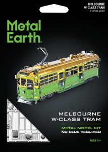 Metal Earth, Tramwaj W Class Melbourne, Model do składania Metalowy.